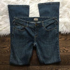 free people skinny bootcut jeans sz 30